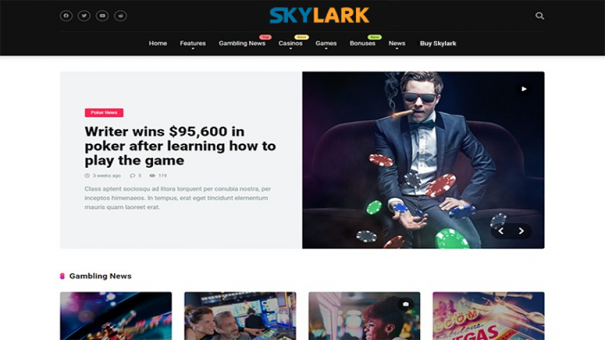 Skylark Theme