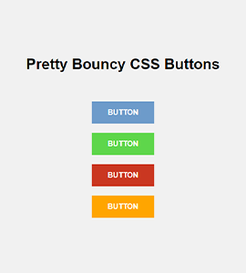 Bouncy Buttons