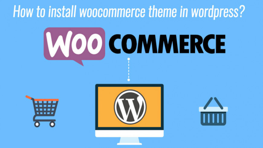 How to install woocommerce theme in wordpress?