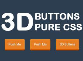 3D Push Effect